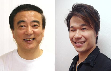 写真(左)中根 静夫先生 (右)安藤 尚範先生